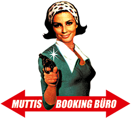 Muttis Booking Büro Logo